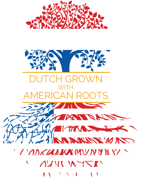 over Saskia Wenge, Dutch grown with American Roots